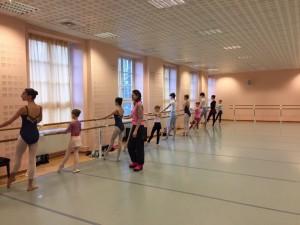 Урок Балетной школы Вежновец для студентов консерватории